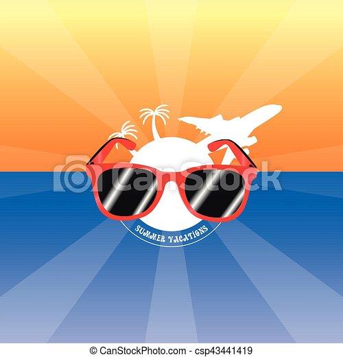 Vacaciones de verano - csp43441419