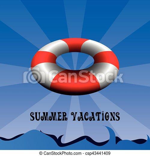 Vacaciones de verano - csp43441409