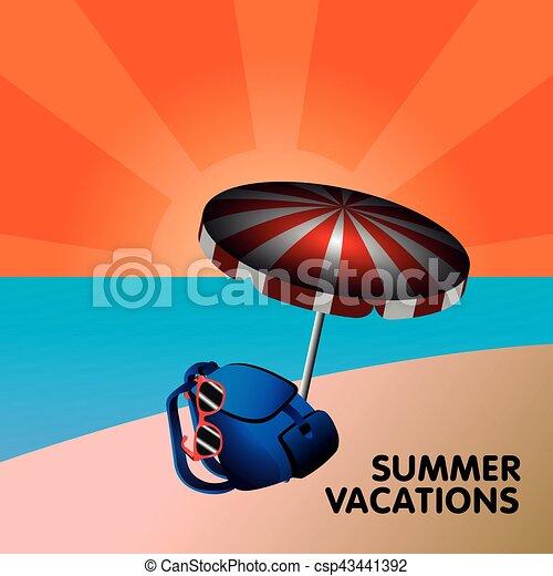 Vacaciones de verano - csp43441392