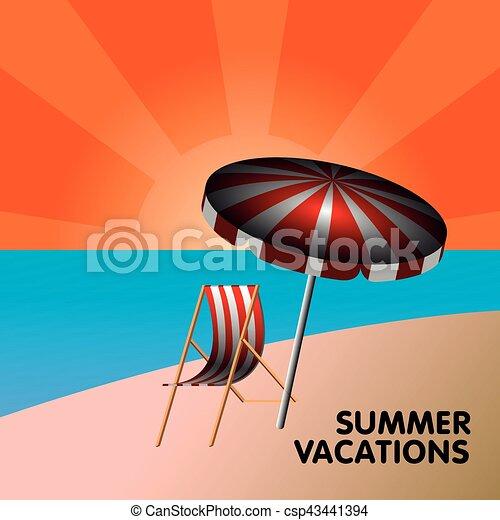 Vacaciones de verano - csp43441394