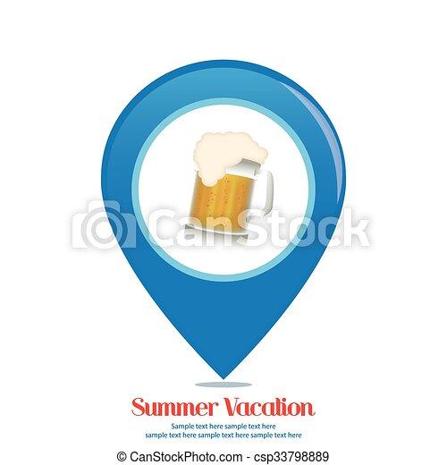 Vacaciones de verano - csp33798889