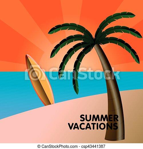 Vacaciones de verano - csp43441387