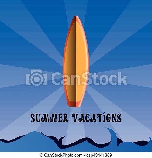 Vacaciones de verano - csp43441389