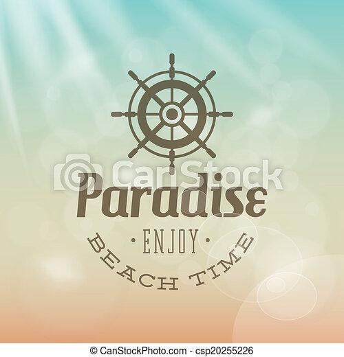 Vacaciones de verano - csp20255226