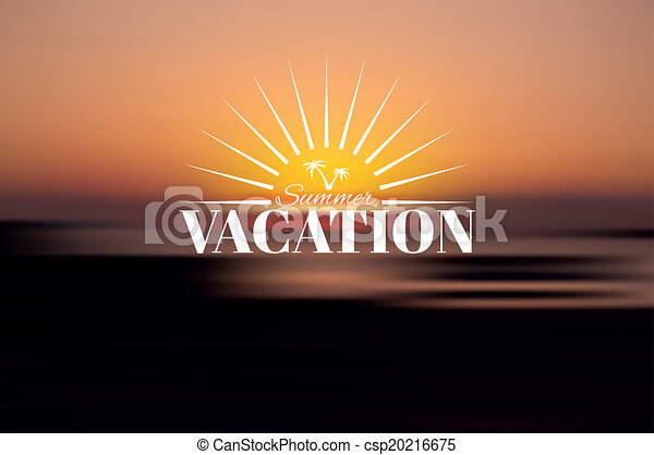 Vacaciones de verano - csp20216675