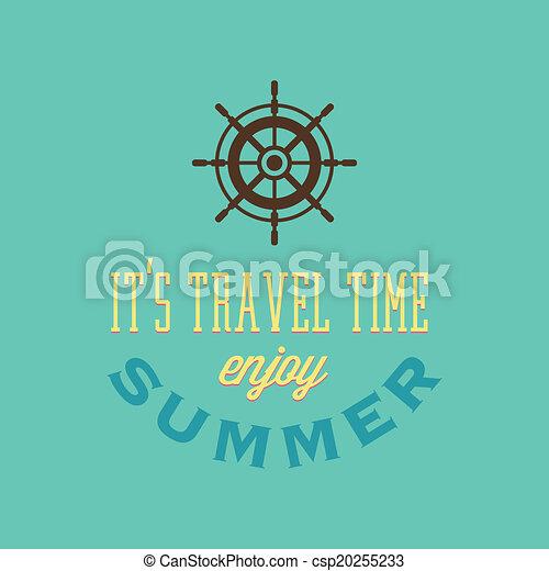 Vacaciones de verano - csp20255233