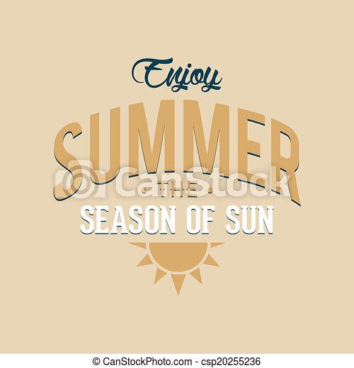 Vacaciones de verano - csp20255236