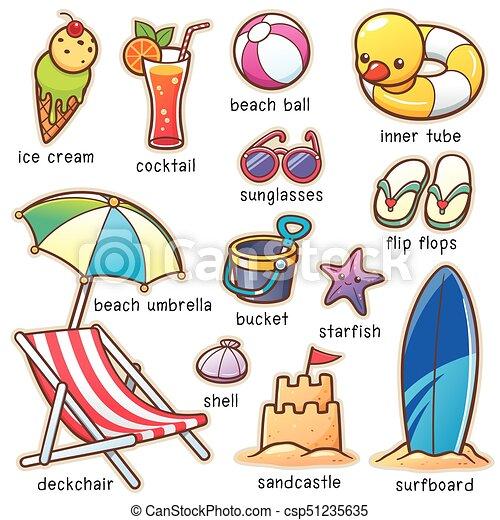 Vacaciones de verano - csp51235635