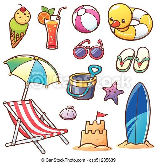 Vacaciones de verano - csp51235639