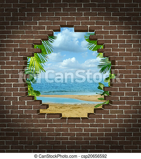 Escape de vacaciones - csp20656592