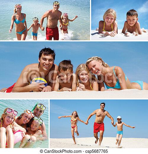 Familia de vacaciones - csp5687765