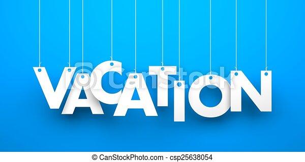 Vacaciones - csp25638054