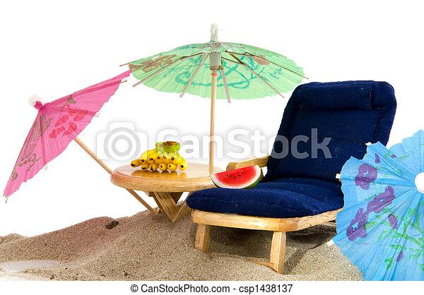 Vacaciones tropicales - csp1438137