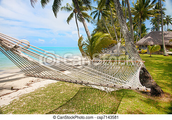 Vacaciones tropicales - csp7143581