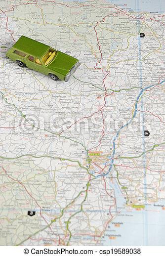 vacances, automobilisme - csp19589038