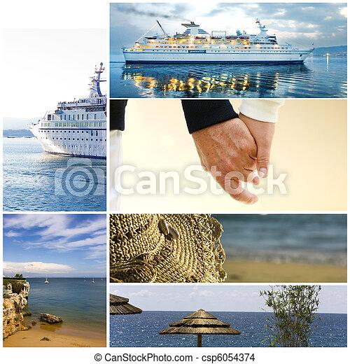 vacances, croisière - csp6054374