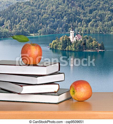 Vacation at Bled lake - csp9509651