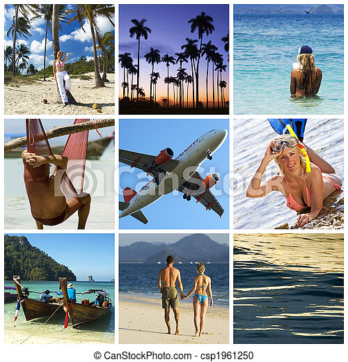 Vacation collage - csp1961250