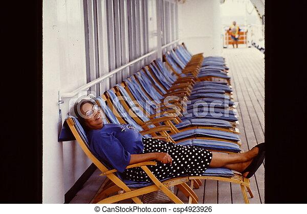vacation., croisière - csp4923926