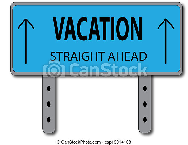 Vacation Sign Concept - csp13014108