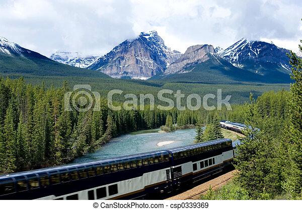 Vacation train - csp0339369