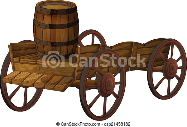 vagão, barril - csp21458182