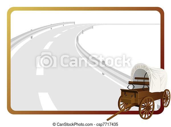 vagão coberto - csp7717435