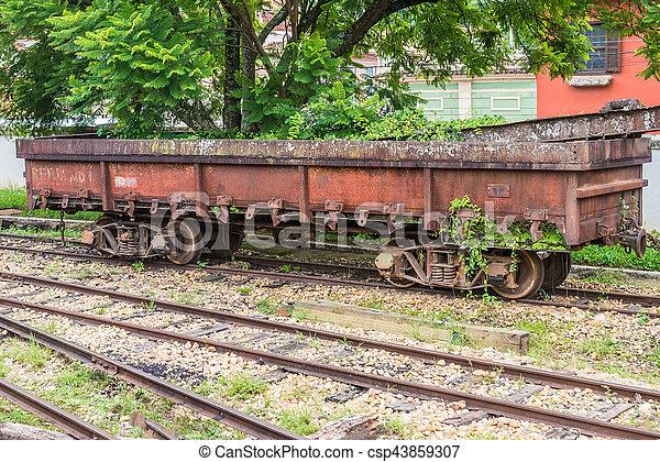 vagão, rey, sao, trem, del, antigas, joao - csp43859307