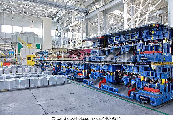 vagón umístit, lisování, zaměstnání - csp14679574