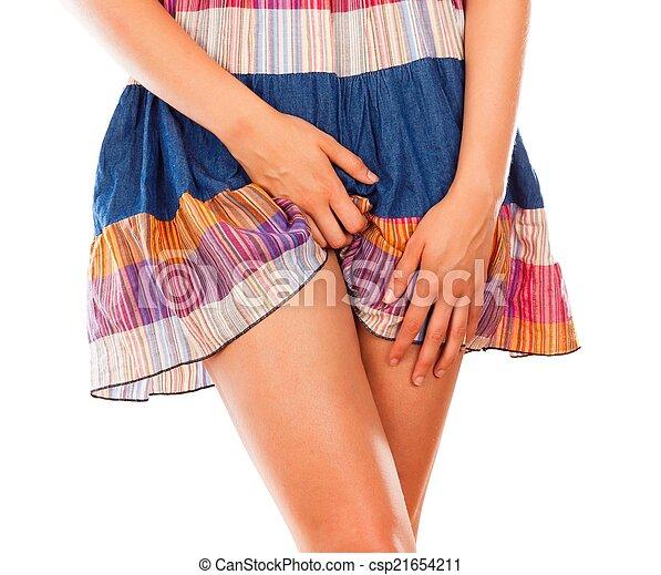 Vaginal Discomfort - csp21654211