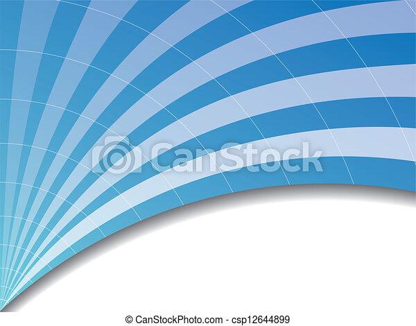vague bleue - csp12644899