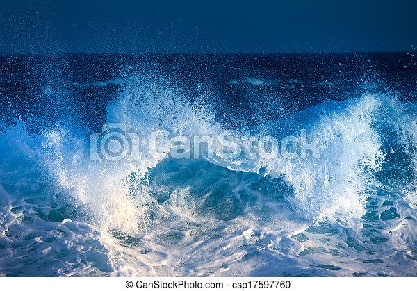 vague océan - csp17597760