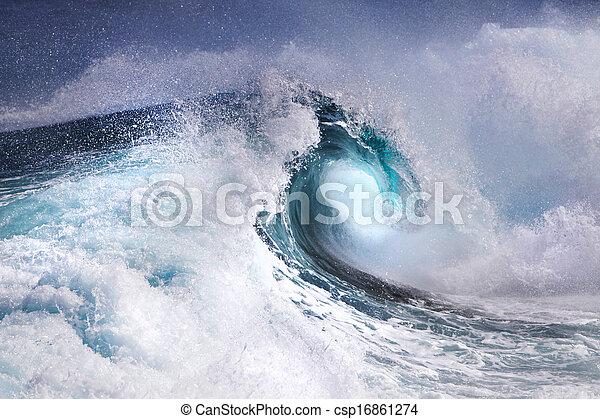 vague océan - csp16861274