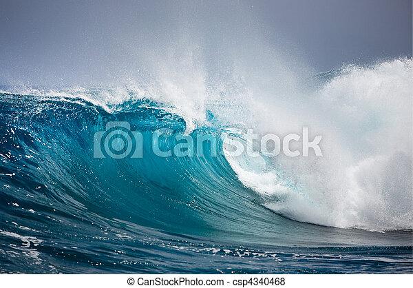 vague océan - csp4340468