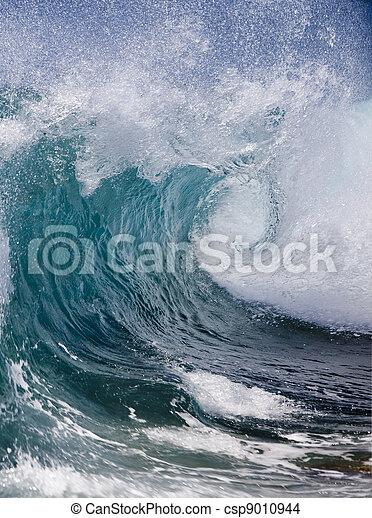 vague océan - csp9010944