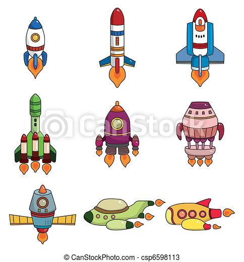 Vaisseau spatial ensemble dessin anim ic ne - Dessin vaisseau spatial ...