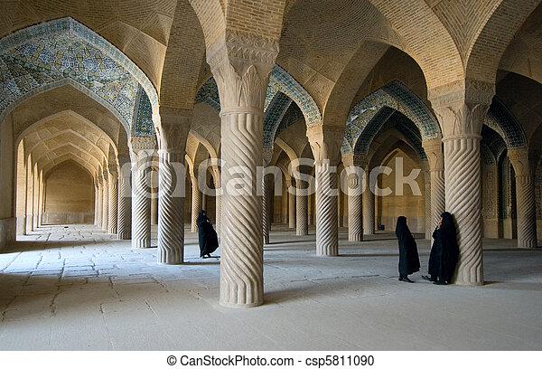 Vakil mosque, Shiraz, Iran - csp5811090