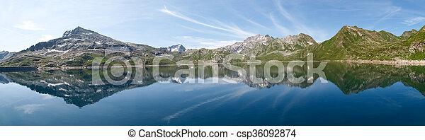 Val sambuco, lake of Naret - csp36092874