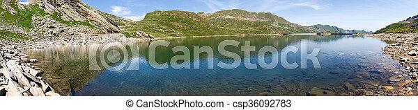 Val sambuco, lake of Naret - csp36092783