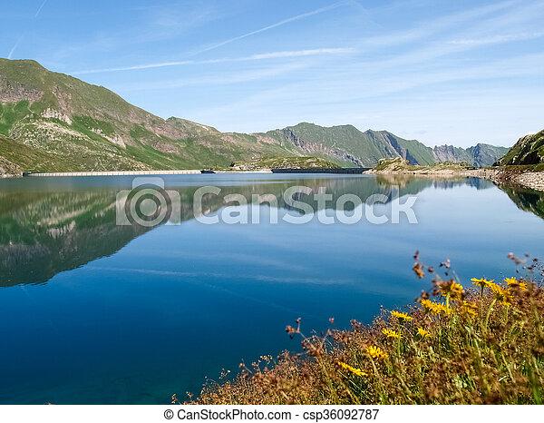 Val sambuco, lake of Naret - csp36092787