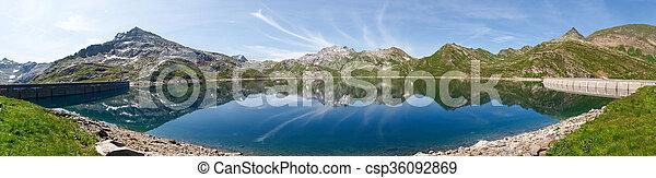 Val sambuco, lake of Naret - csp36092869