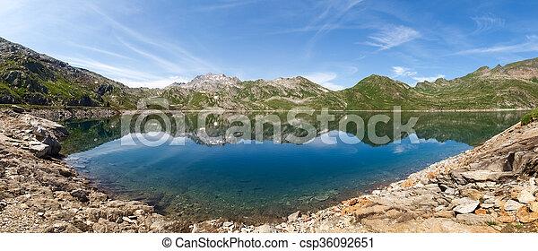 Val sambuco, lake of Naret - csp36092651