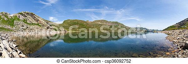 Val sambuco, lake of Naret - csp36092752