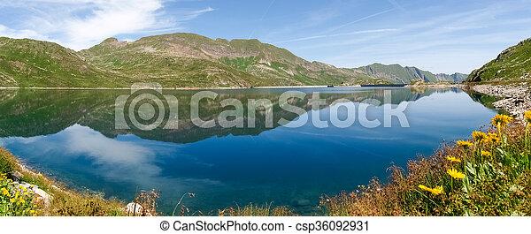 Val sambuco, lake of Naret - csp36092931