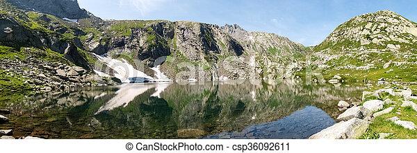 Val Sambuco, lake of Sassolo - csp36092611