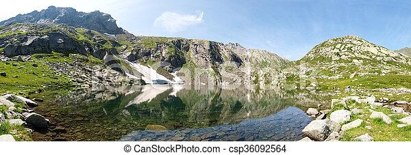 Val Sambuco, lake of Sassolo - csp36092564