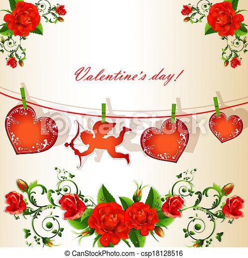 valentineçs jour - csp18128516