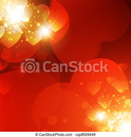 Valentine background - csp8509449