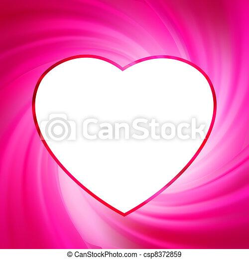 Valentine background. EPS 8 - csp8372859