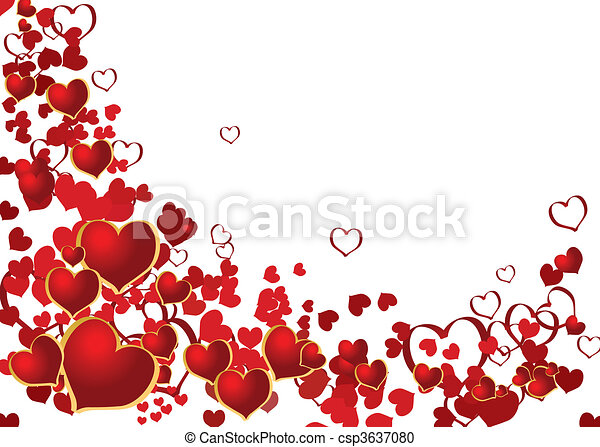 Valentine background with place for your text - csp3637080